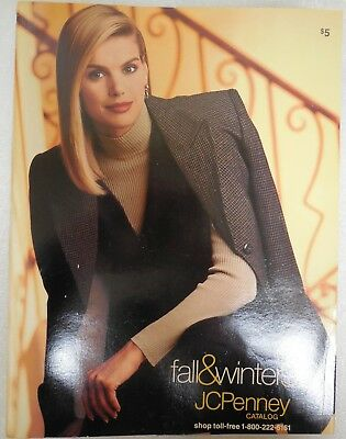 JC Penney Vintage Fashion Catalog Fall Winter 1996