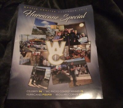 Great Piece Brand New 2017 Waffle House Hurricane Special Newsletter