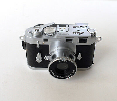 "MINOX Leica M3 2.1MB Digital Classic Mini Camera #8005900 ""EXCELLENT CONDITION"""