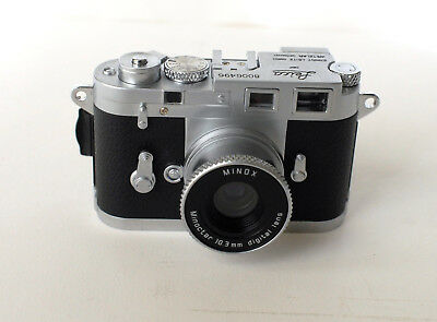 "MINOX Leica M3 2.1MB Digital Classic Mini Camera #8006496 ""EXCELLENT CONDITION"""