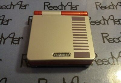 NES Classic Edition Red AGS-001 *MINT* GameBoy Advance SP Custom Nintendo System