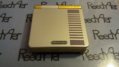 NES Classic Edition Gold AGS-001 *MINT GameBoy Advance SP Custom Nintendo System