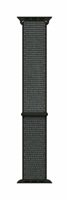 Genuine Apple 42mm Sport Loop Smartwatch Band - Dark Olive - VG - In Box