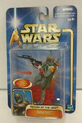 New STAR WARS Return of the Jedi BOBA FETT #08 The Pit of Carkoon 2002 Hasbro