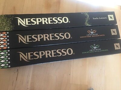 Nespresso Limited Edition Capsules
