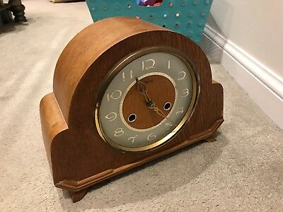 1930s Art deco Mantel Clock - Smiths English Clocks
