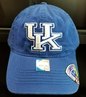 1fa7b7a2363 Kentucky Wildcats Blue Stretch Fitted Hat Osfa New With Tags Nwt Free  Shipping