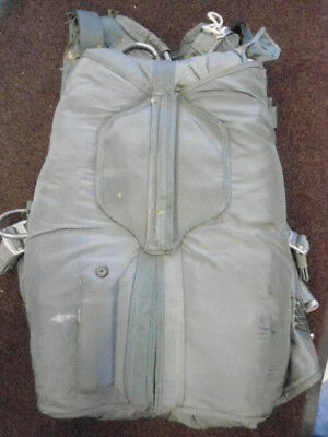 US Military BA-22 Bailout Parachute and Harness