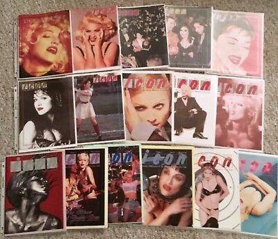 Madonna icon Magazine 1, 3 -52 + Icon 2010 + Icon Welcome Pack