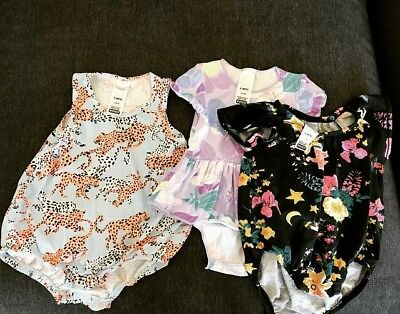 Girls Baby Bonds Bundle 000-00 Rompers And Dress
