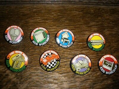 Home Depot Kids Workshop - Lot of pins