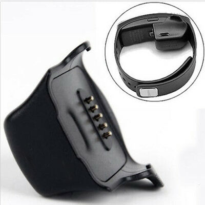 For Samsung Gear S SM-R350 Charging Battery Cradle Smart Watch Charger Dock OBE1