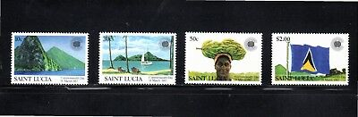 St Lucia 1983 Commonwealth Day SG 633/6 MUH