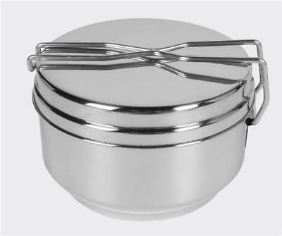 Helikon Tex Mess Tin Camping Outdoor cooking Kochgeschirr Stainless Steel Steel