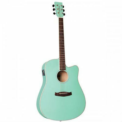 Tanglewood DBT DCE SGR Discovery Acoustic-Electric Dreadnought Surf Green Matt S