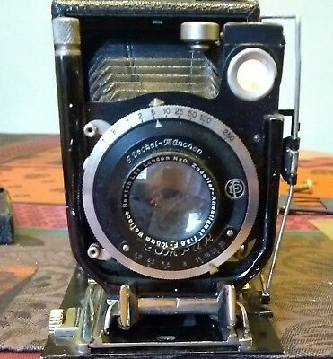 Folding vintage Compur camera F Deckel Munchen.Relisted due to time waster.