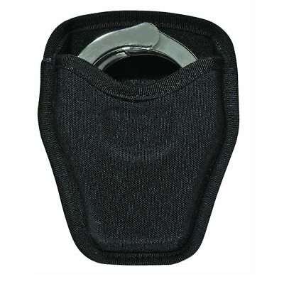 Bianchi 8034 Open Handcuff Case Black Nylon Holder Security Pouch Pull through