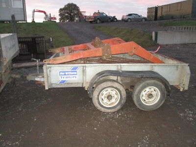 ifor williams twin axle trailer 8x5 no vat reduced