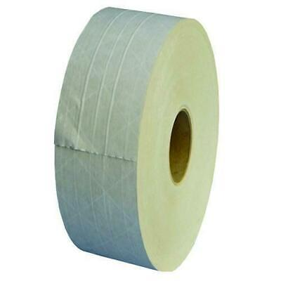 """Central 235 Reinforced Gum Tape 3"""" x 450 ft White Paper Economy 70 Rolls"""