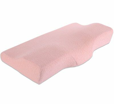 iCoudy Cervical Contour Bed Pillow for Neck Pain and Side Sleeper,Queen Size Mem