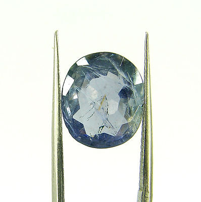 4.00 Ct Oval Natural Blue Iolite Loose Gemstone Untreated Stone - 116783