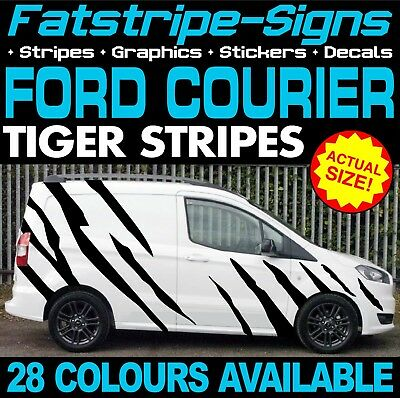 368f1f36d6 Ford Transit Courier Tiger Stripes Graphics Stickers Decals Van M Sport St  Rs