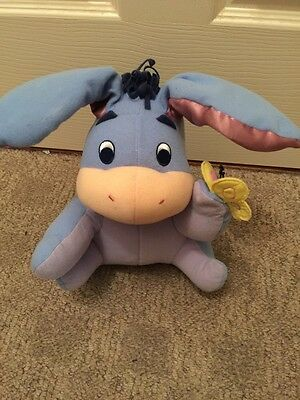 Peek A Boo Eeyore Baby Talking Animated  Plush Toy 2004 Fisher Price Mattel