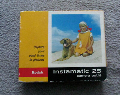 Kodak Instamatic 25 Camera Box