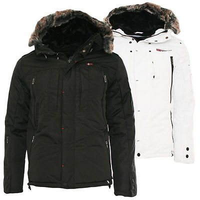 GEOGRAPHICAL NORWAY MEN'S Winter Jacket NEW Cluses Parka 2
