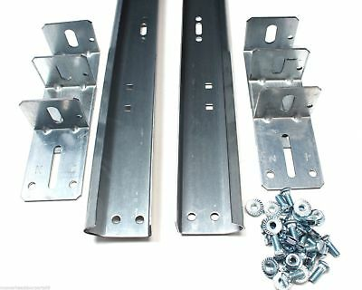Garage Door Track For 8' High Door - Pair of Vertical Sections