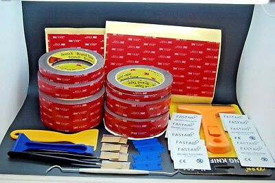 3M™ Vhb™ 5952  Double Sided Tape Set, Prep Pads,Tweezers,Blades,Multiple Listing