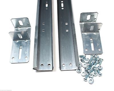 Garage Door Track For 7' High Door - Pair of Vertical Sections