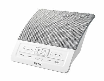 HoMedics HDS-1000 DEEP SLEEP SOUND THERAPY White Noise Machine 4 Distinct Tones
