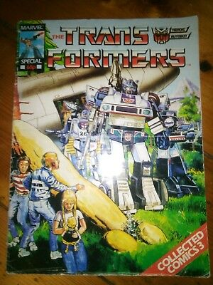 Marvel Transformers comic from 1986