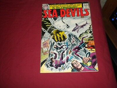 Sea Devils #11 dc 1963 silver age 5.5/fn- comic! Lots of Sea Devils listed! WOW!