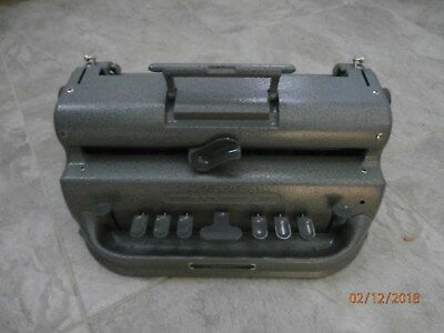 PERKINS BRAILLER (Large Cell)  Totally reconditioned