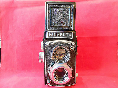 minaflex Yashica Japan Two Lenses Tri-Lausar 3,5/8