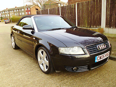 Audi A4 1.8 Turbo S Line Convertible, 2005, Cambelt Changed, Full History