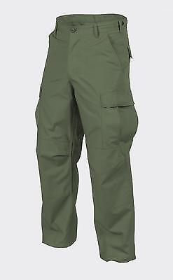 Helikon Tex US BDU Cotton Casual Outdoor Pants Army Pants Olive SR SMALL REGULAR