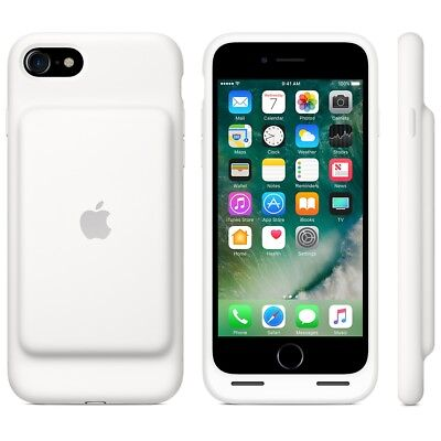 Original Apple iPhone 7 iPhone 8 Smart Battery Case - iPhone Battery Case -White
