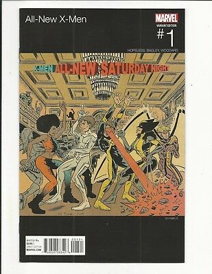 All New X-Men # 1 (Piskor Hip Hop Variant, Feb 2016), Nm New