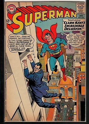 Superman #174 GD/VG 3.0 DC Silver Age 1965!!!