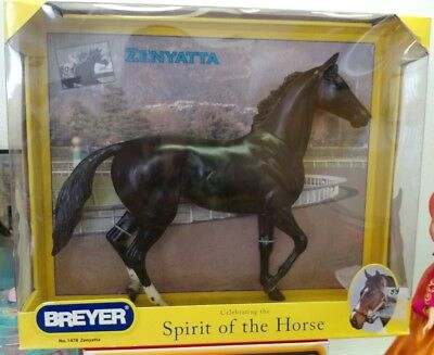 Traditional Breyer Zenyatta Racehorse Royalty Lonesome Glory Mold NRFB Free Ship