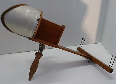 Vintage Monarch Handheld Stereoscope Stereoview 3D Photo Viewer C. L. Leeper