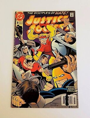 DC Comic Book Justice Society of America The Disciples of Hate # 8 March 1993