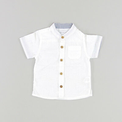 Camisa color Blanco marca Early days 6 Meses  167122
