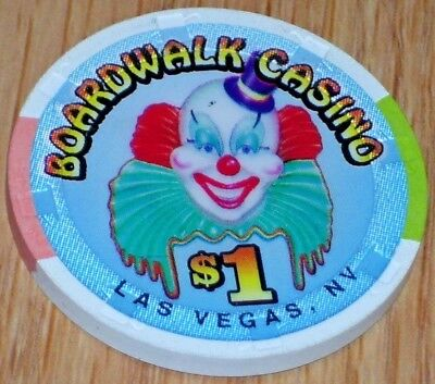$1 3Rd Edt Gaming Chip From The Holiday Inn Boardwalk Casino Las Vegas Nv