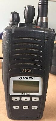 Harris, M/A-COM P5400 136-174MHz, P25 Conventional & P25 Trunking Portable Radio