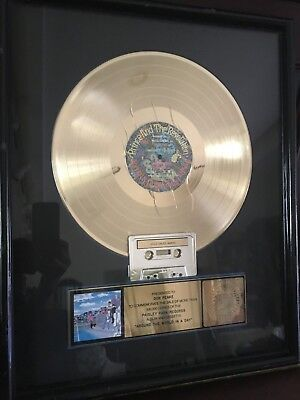 Prince Gold Record RIAA Award (Around the World in a Day)