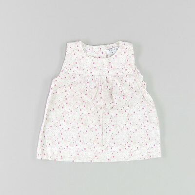 Blusa color Blanco marca In Extenso 6 Meses
